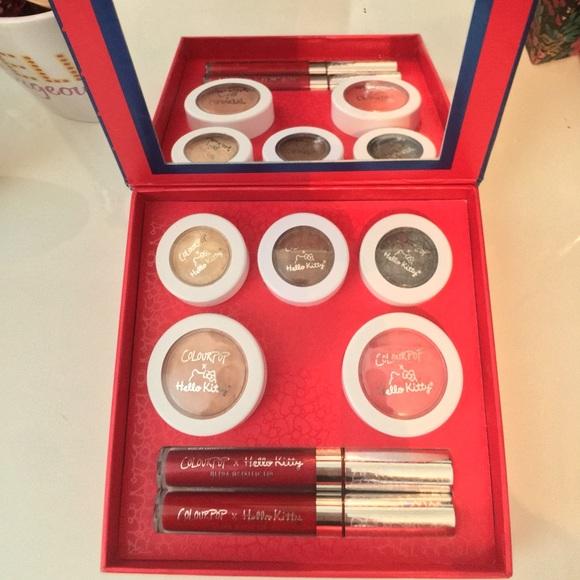 364047526 Sephora Makeup | Colourpop X Hello Kitty Face Kit Palette | Poshmark